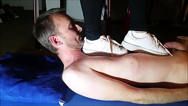 Brutal Trampling with Adidas Superstar Platform (Trailer)