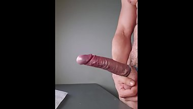 Long edging, multiple ruined, ball squeezing vein poping orgasms