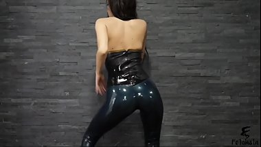 Latex Leggings Twerk