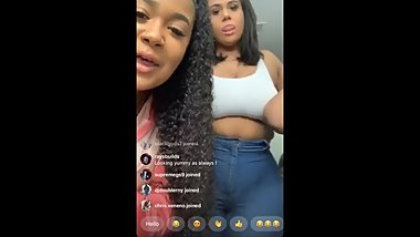 BBW Latina shakes booty on Instagram