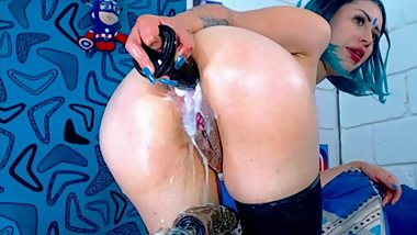 Classy Anal Fucking Fisting Gaping and Squirting