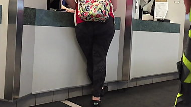 Nice Ass Backpack Pawg in Spandex