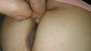 Fucking my wife and playing with her asshole