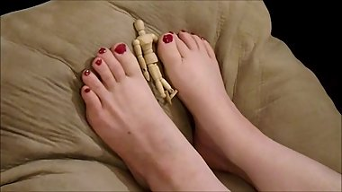 GTS Foot Playtime with My tiny