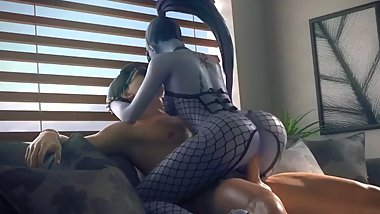 Widowmaker Riding Cock (HD)