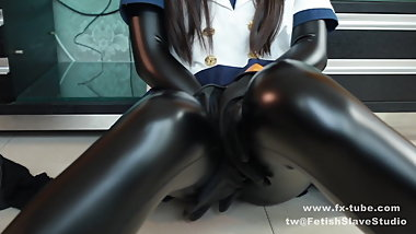 follow our tw: fetishslavestudio  Latex girl s private life