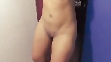 Aunty in Shower