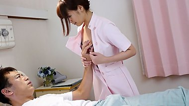 Japanese nurse, Maika is often fucking her horny patients, u