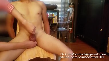 Cumcontrol with poppers