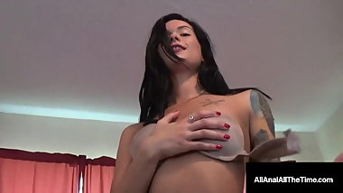 Anal 1st Timer Maria Marley Gets Butt Fucked & Creampied!