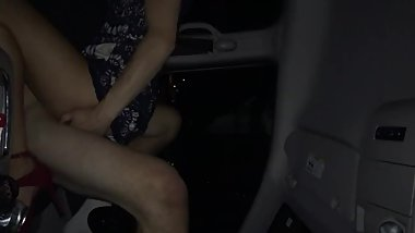 Real couple fucks in car. Unedited video 4 of 4.