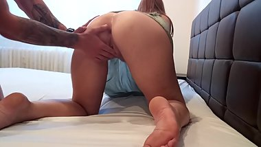 Made my GF scream in orgasm , rough sex