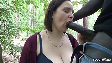 Berlin Street Hooker Quick Fuck Outdoor in Park by Big Black