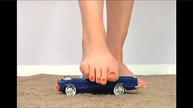 Barefoot Car Crush