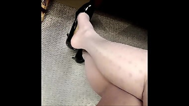Pantyhose teases