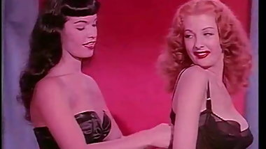 Tempest Storm & Betty Page