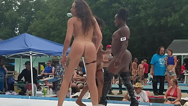 Naked girls on stage Nudes a Poppin 2019