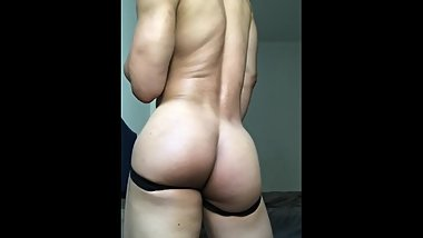 Hot Asian Muscle Ripped Body and Huge Ass