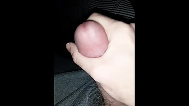 Jerking off WC