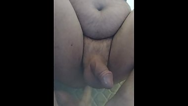 Dirty ass getting pleased with my new dildo