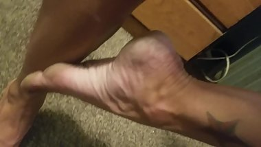 Dirty Sweaty Soles Feet Size 7 Chicago Crack Whore
