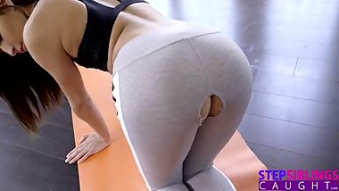 STEP SISTERS RIPPED YOGA PANTS MUSIC VIDEO