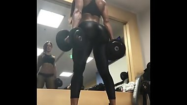 Perfect work in gym