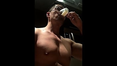 cumshot compilation and drinking cum from group sex