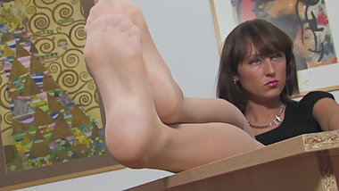 Pantyhose Nylon Feet