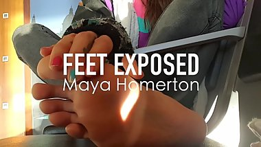 Feet Exposed: Maya