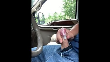 Pulled over to cum