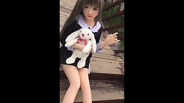 Schoolgirl sex doll young small