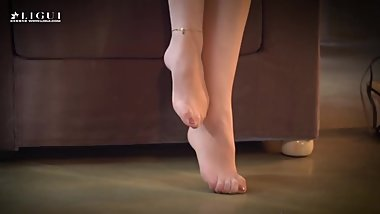 asian nylon feet6