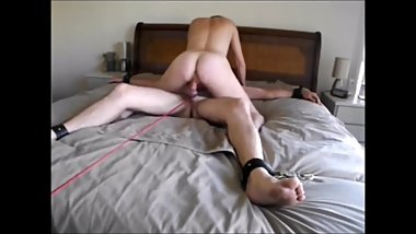 Femdom Using, Riding, Tormenting & Polishing slave gee for HER pleasure
