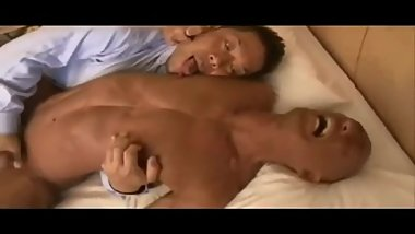 Mature Japanese gets seduced by his hot colleague!