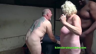 Pd1380 . Kim & Co. 6 Claire Knight bbc & white cock stable fuck pt2