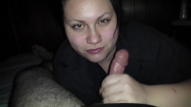 Ex GF sucks my dick