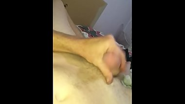 Quick wank after edging