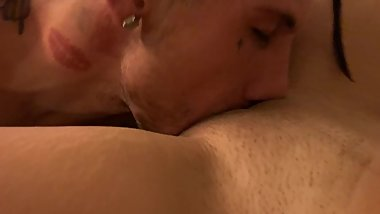 Hot Spanish girl gets eaten out by her man