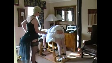 FemDom Lifestyle - sissy maid scolded and punished