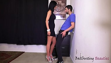 Gorgeous Mom Ballbusting