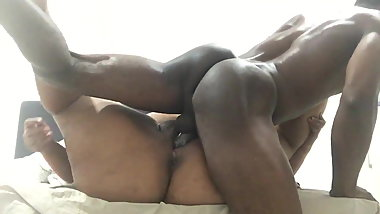 fat pussy fucked by hard black long cock