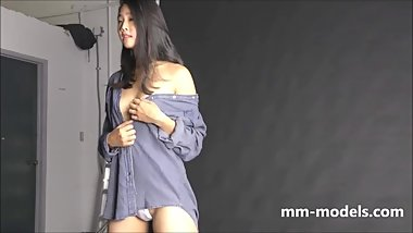 Nude Model Photoshoot [Asian Teen -106-]