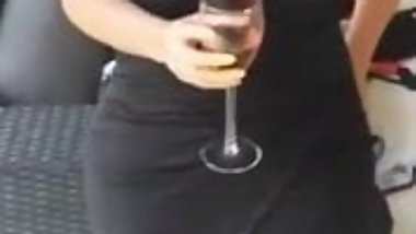 Donna looking fine at recent cocktail party