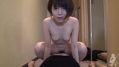 Japanese hot girl quick fuck in hotel room