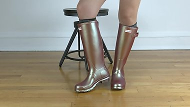 HUNTER RUBBER BOOTS  Nebula  The Boot Guy Reviews