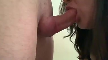 Deepthroat edging with multiple cum