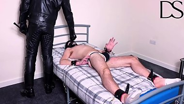 Restrained, Gagged and Whipped