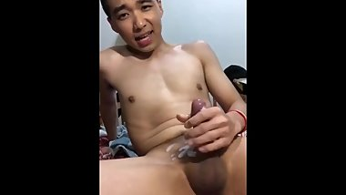 Asian muscle jerkoff