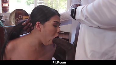 FILF - Cindy Starfall Applies For A New Job And Gets It